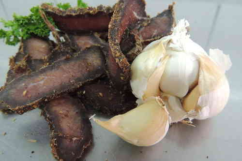 German-Beef-Jerky Knoblauch 250 g